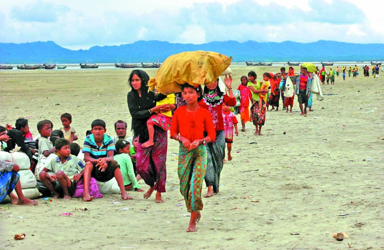 Exert pressure on Myanmar to take back Rohingyas