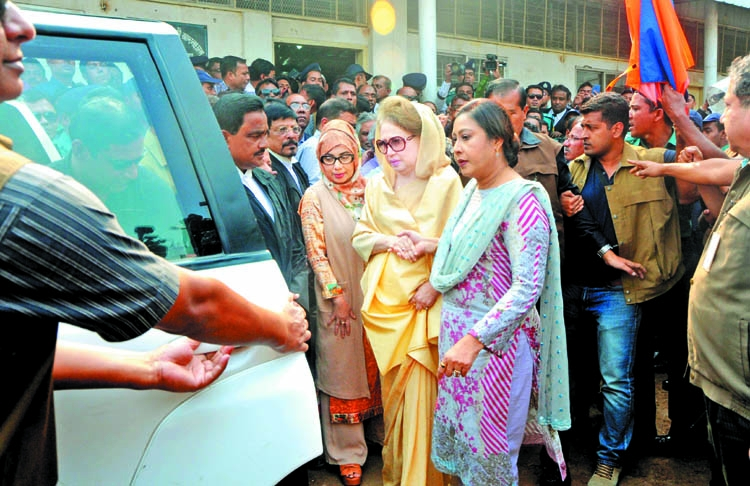 Khaleda Zia says she is  'completely innocent'