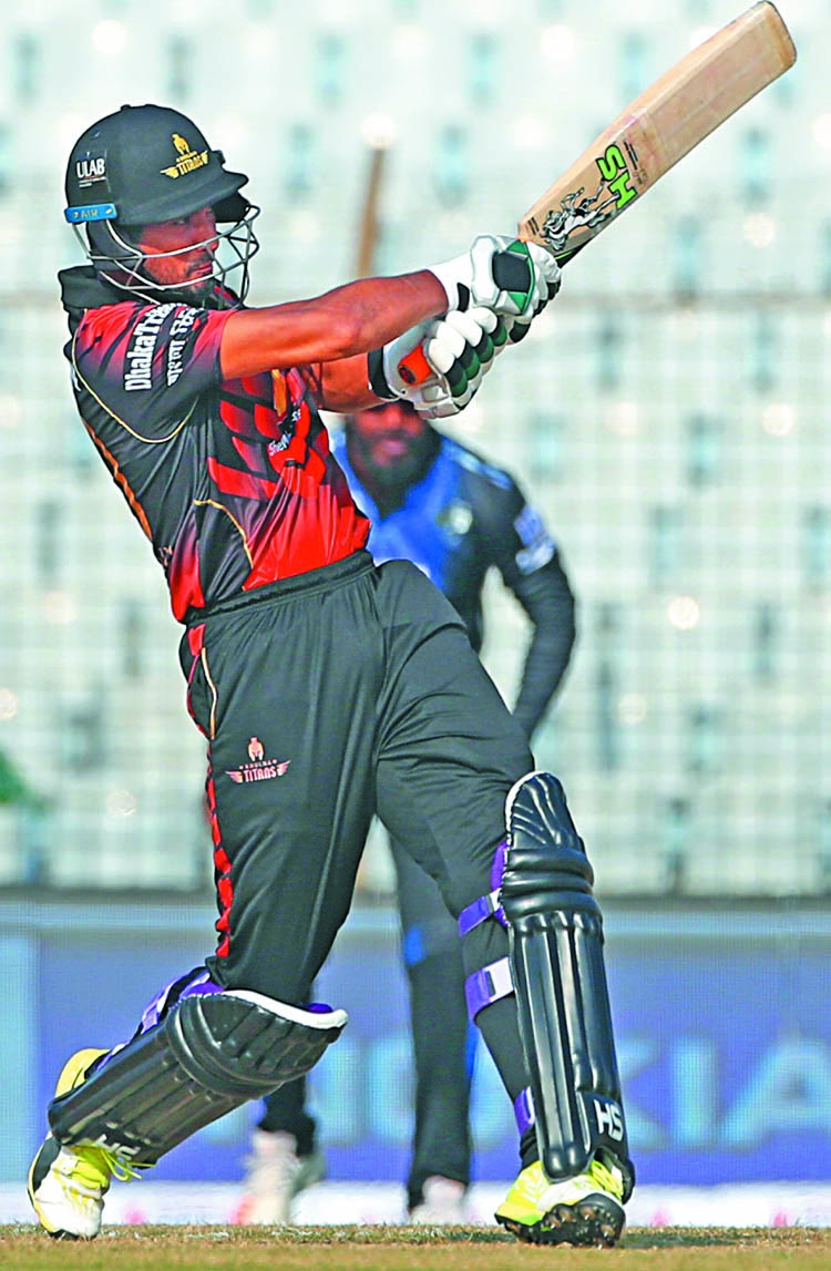 Mahmudullah leads Titans top at the BPL table