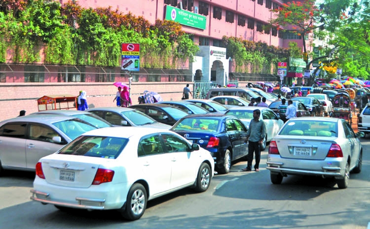 43 new parking lots to reduce jam
