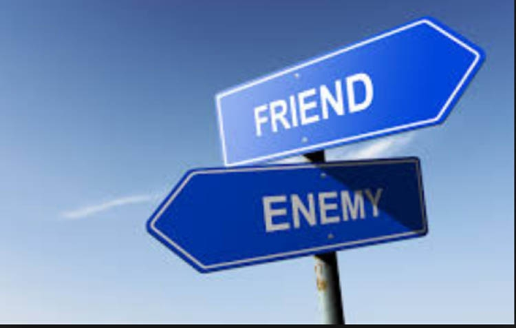 The enemy of an enemy is not necessarily a friend