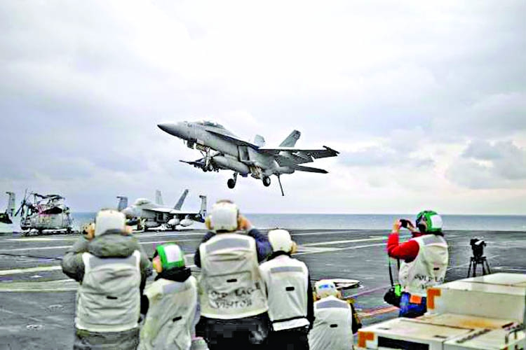US and South Korea begin largest-ever joint air drill