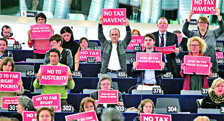 European Union divided over tax haven blacklist