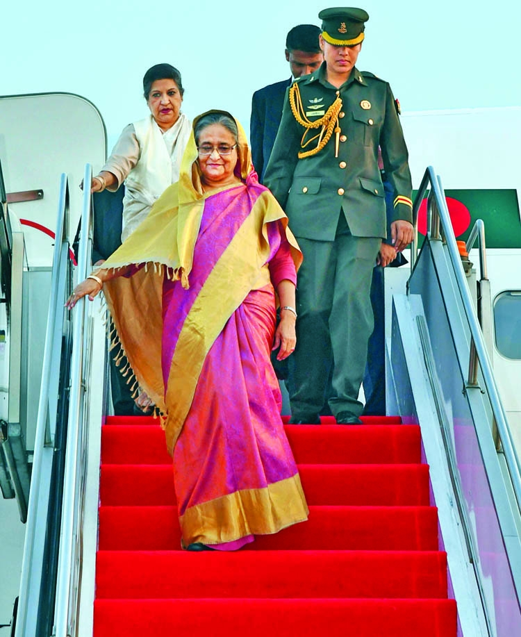 PM returns from Cambodia