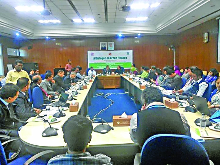 'BD to be model of green financing'