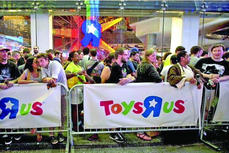 US judge approves ToysRUs bonus plan to spur shopping