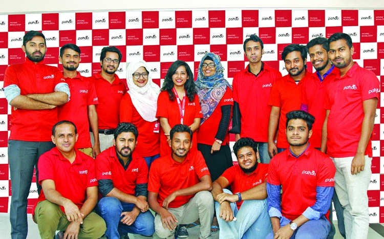 'Pathao', not just a ride service, it's a courier service as well