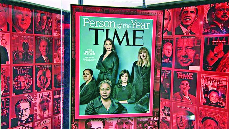 Time names 'The Silence Breakers' Person of the Year