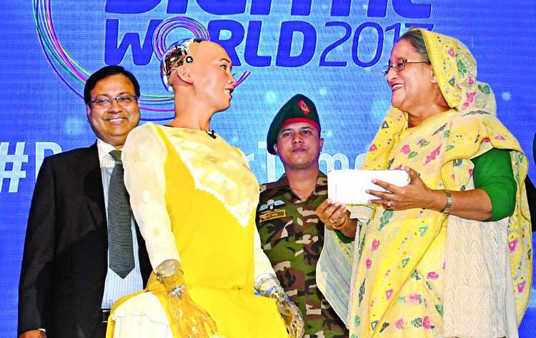 Today's Bangladesh is digital: PM