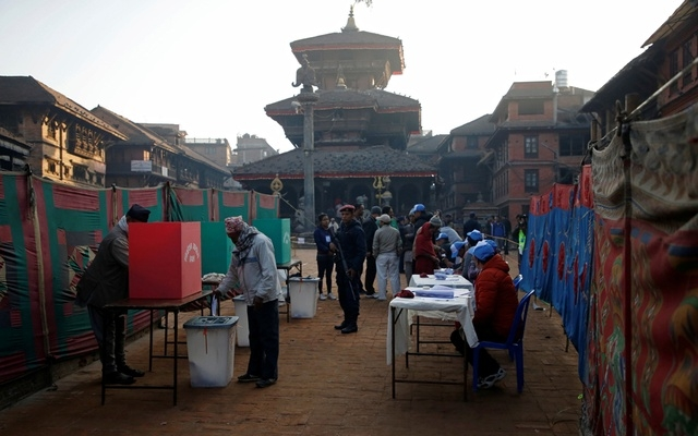 Nepal votes in final round of polls