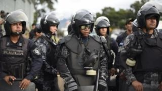 Honduras lifts curfew in some areas