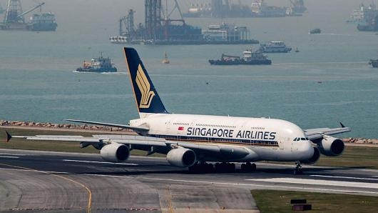 Missile prompts Singapore Air re-route