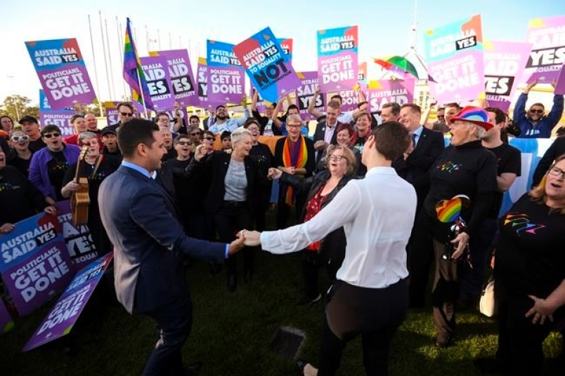 Australian Parliament allows same-sex marriages