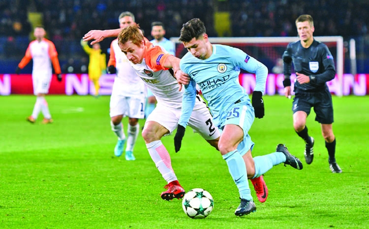 Shakhtar rout Man City, Leipzig exit from Champions League