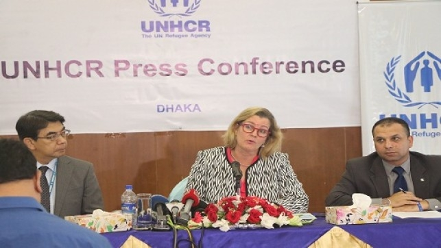 UNHCR expresses readiness to help advance Rohingya repatriation process