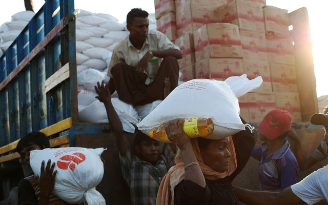 No aid for Rohingyas for a week