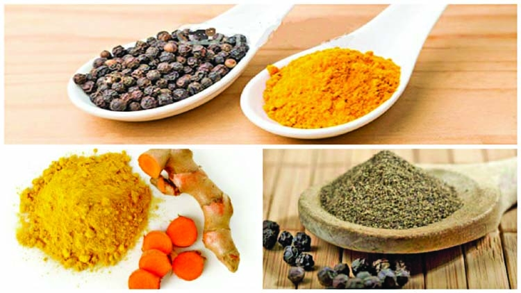 Winning combination of turmeric and black pepper