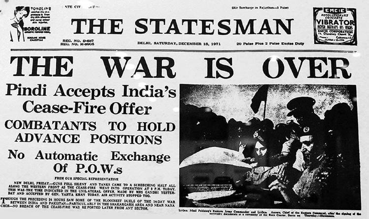Final blow and victory in the Liberation War