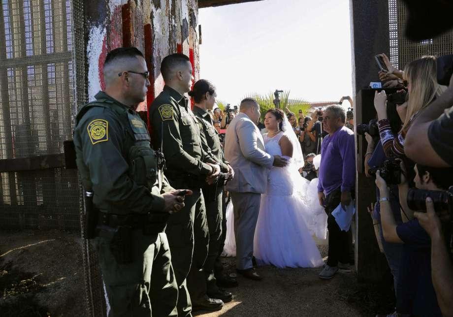 groom in rare crossborder wedding is a drug smuggler
