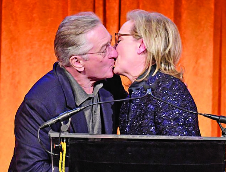That's some kiss!
