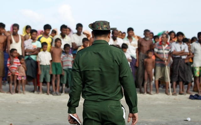 Myanmar soldiers kill 10 captured Rohingyas