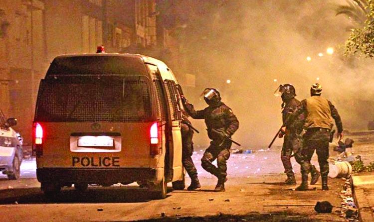 Violence continues in Tunisia
