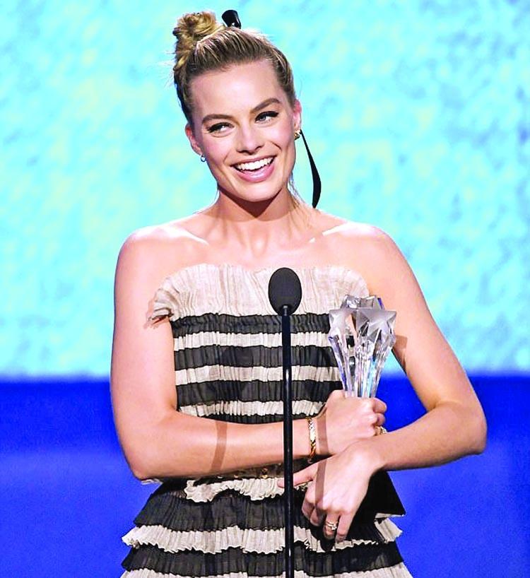 Margot wins best comedy actress