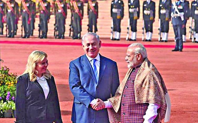 Netanyahu upset by Modi's Jerusalem rejection