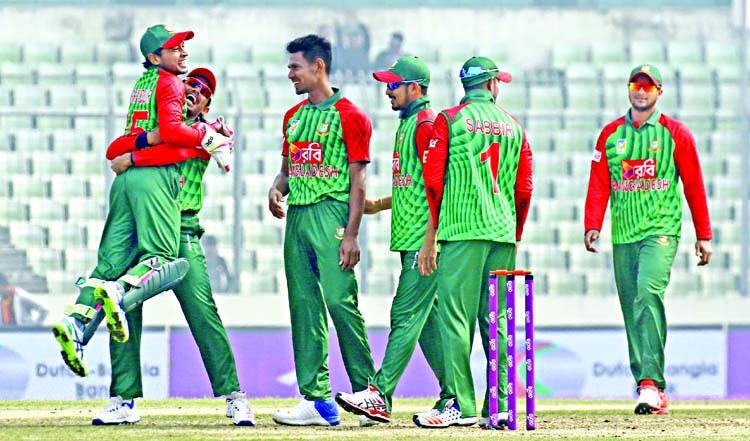 The victory puts us in good stead ahead, says Shakib