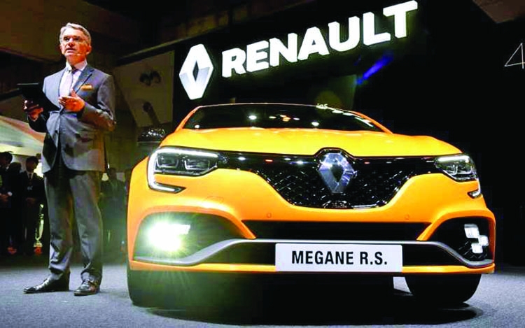 Renault posts record year for car sales
