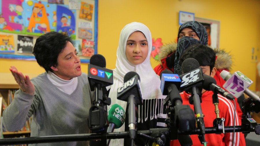 Reported Toronto hijab attack a hoax