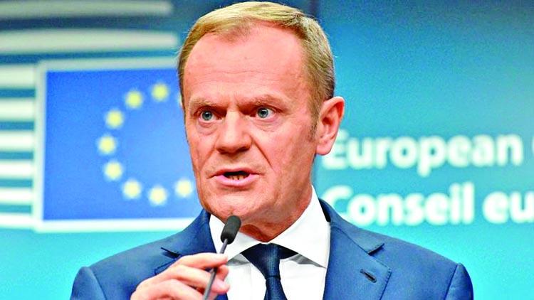 EU's hearts still open to Brexit reversal: Tusk