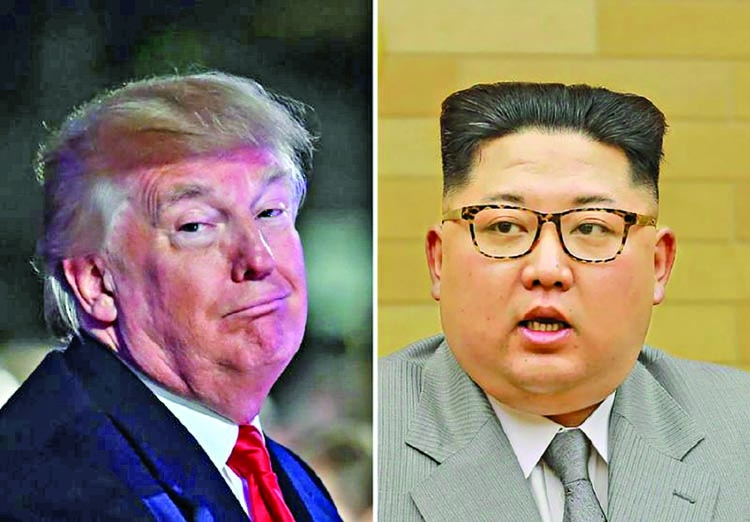 N Korea scoffs at Trump's 'nuclear button' tweet
