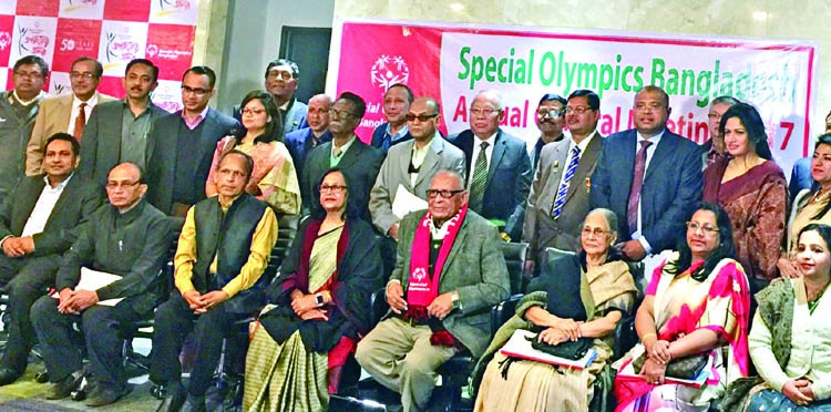 AGM, election of Bangladesh Special Olympics held