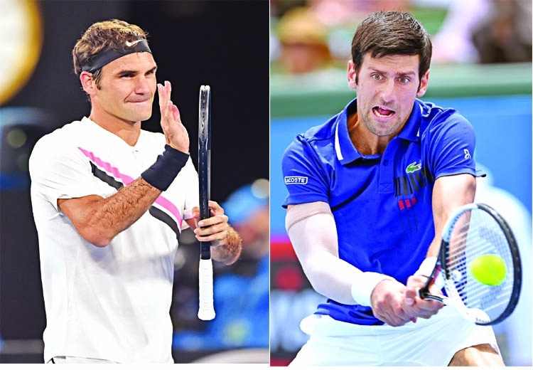 Federer and Djokovic take control in Melbourne