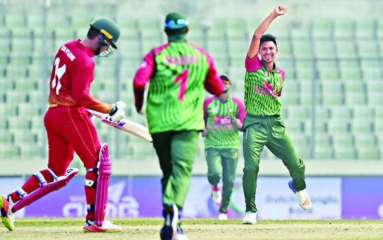 'Mustafiz regaining  his old form'