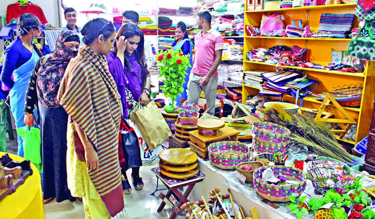 Handicrafts by prisoners showcased at DITF