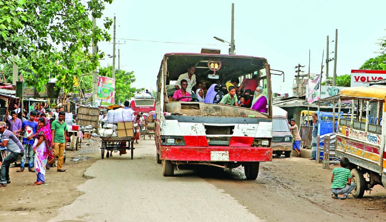 Unfit transports make travels in city risky