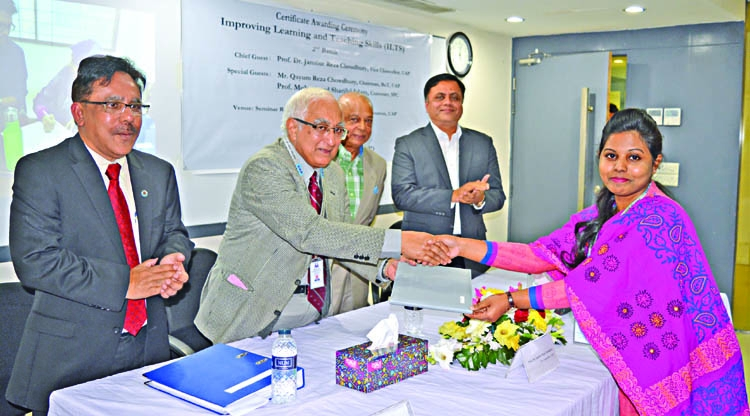 18 UAP faculty members get ILTS certificates