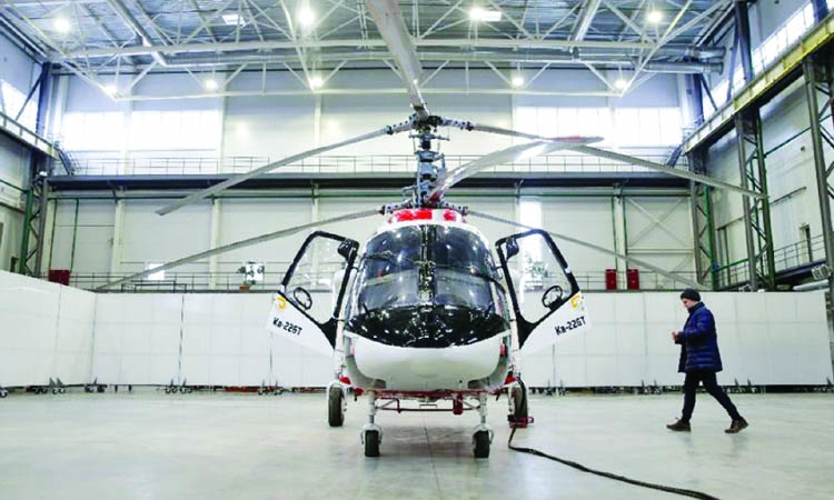 Siberian helicopter maker eyes on India