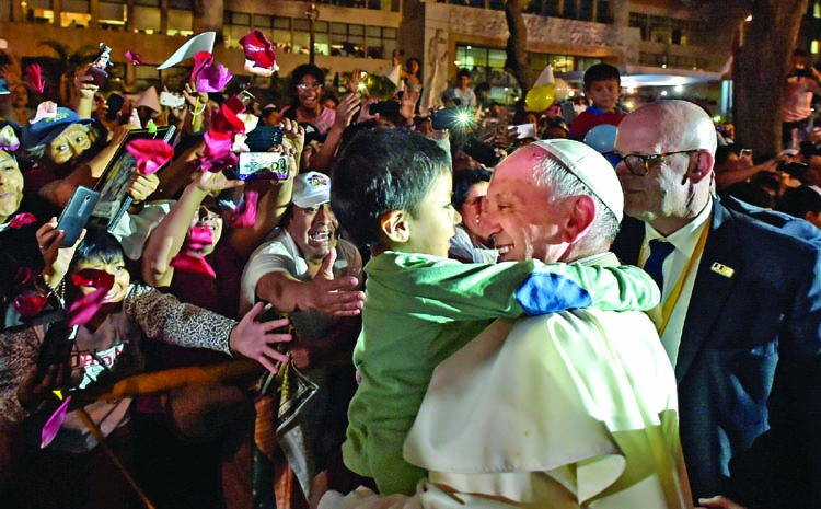 Pope to visit Peru region hard hit by floods