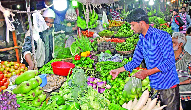 Vegetable prices high despite ample supply