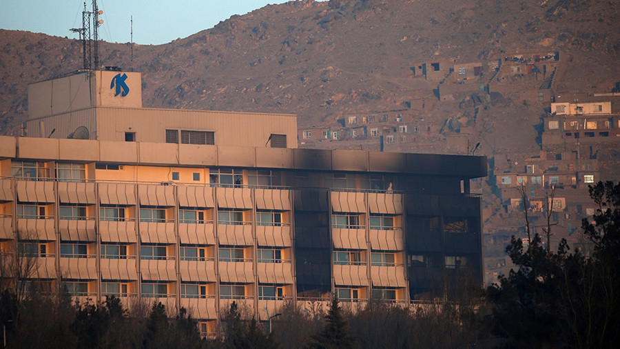 Kabul hotel siege ends