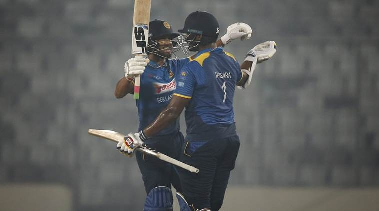 Sri Lanka beat  Zimbabwe by five wickets