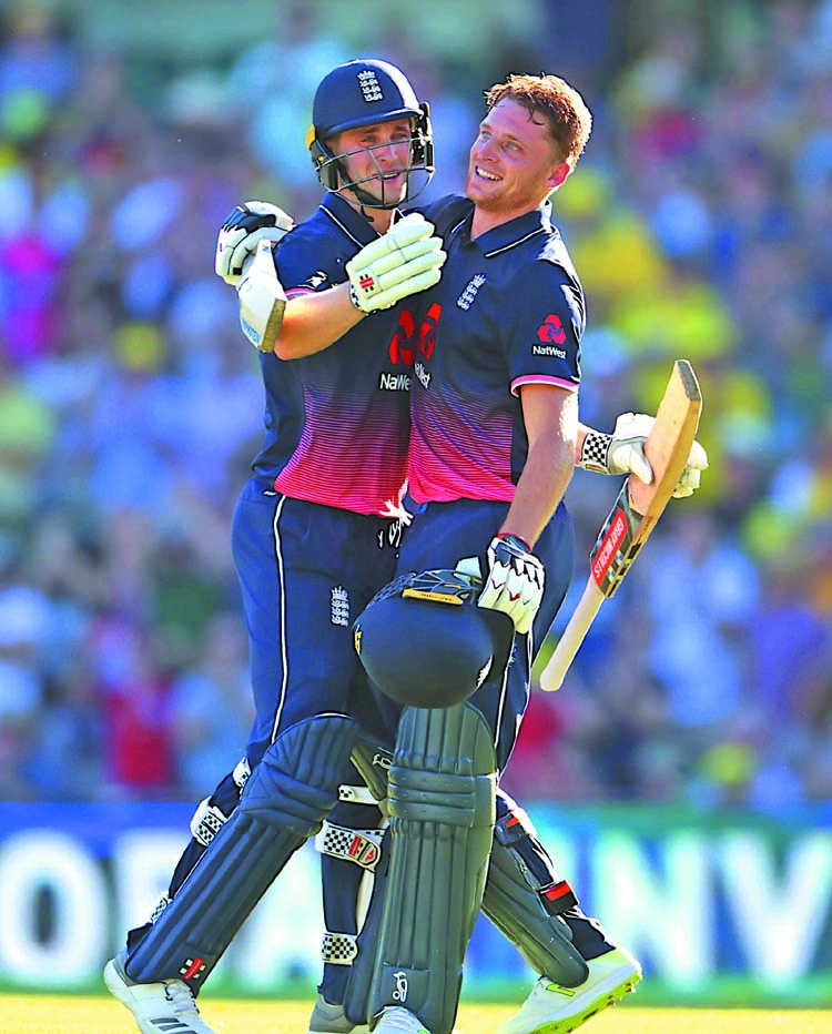 Buttler serves up series success for England against Australia