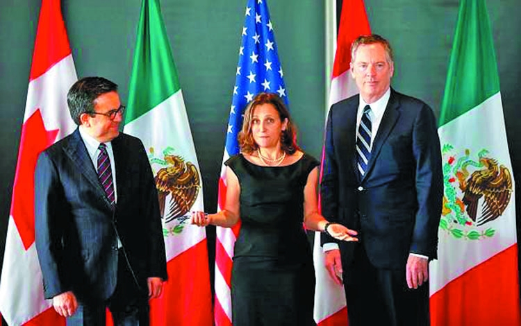 New round of negotiations to revamp NAFTA begins Tuesday