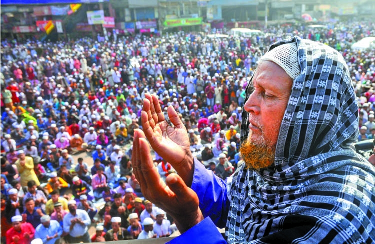 Second phase Biswa Ijtema ends seeking world peace