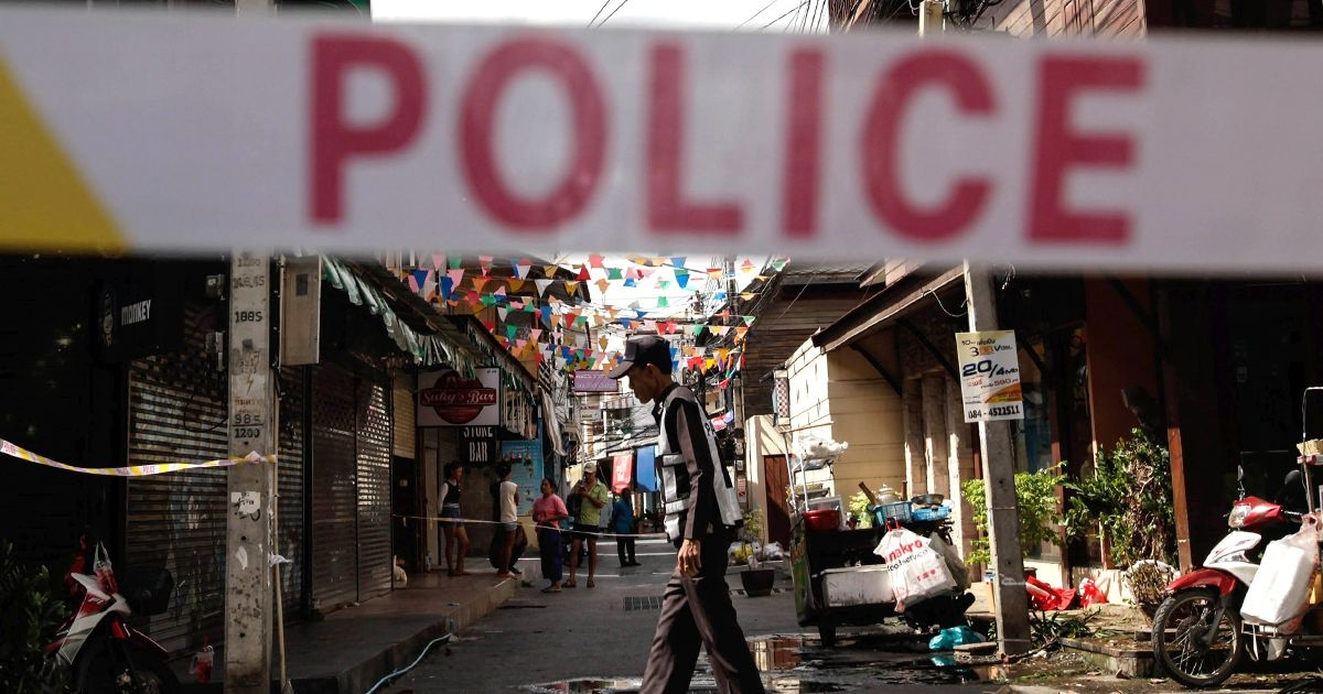 Bombing at market in Thailand leaves 3 dead