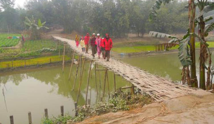 Nilphamari people demand  four bridges on four rivers
