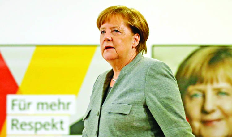 Merkel readies for intense German coalition talks